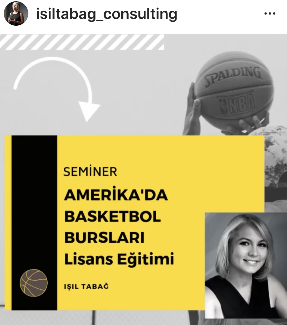 Basketbol Bursları - Basketball Scholarships - Işıl Tabağ